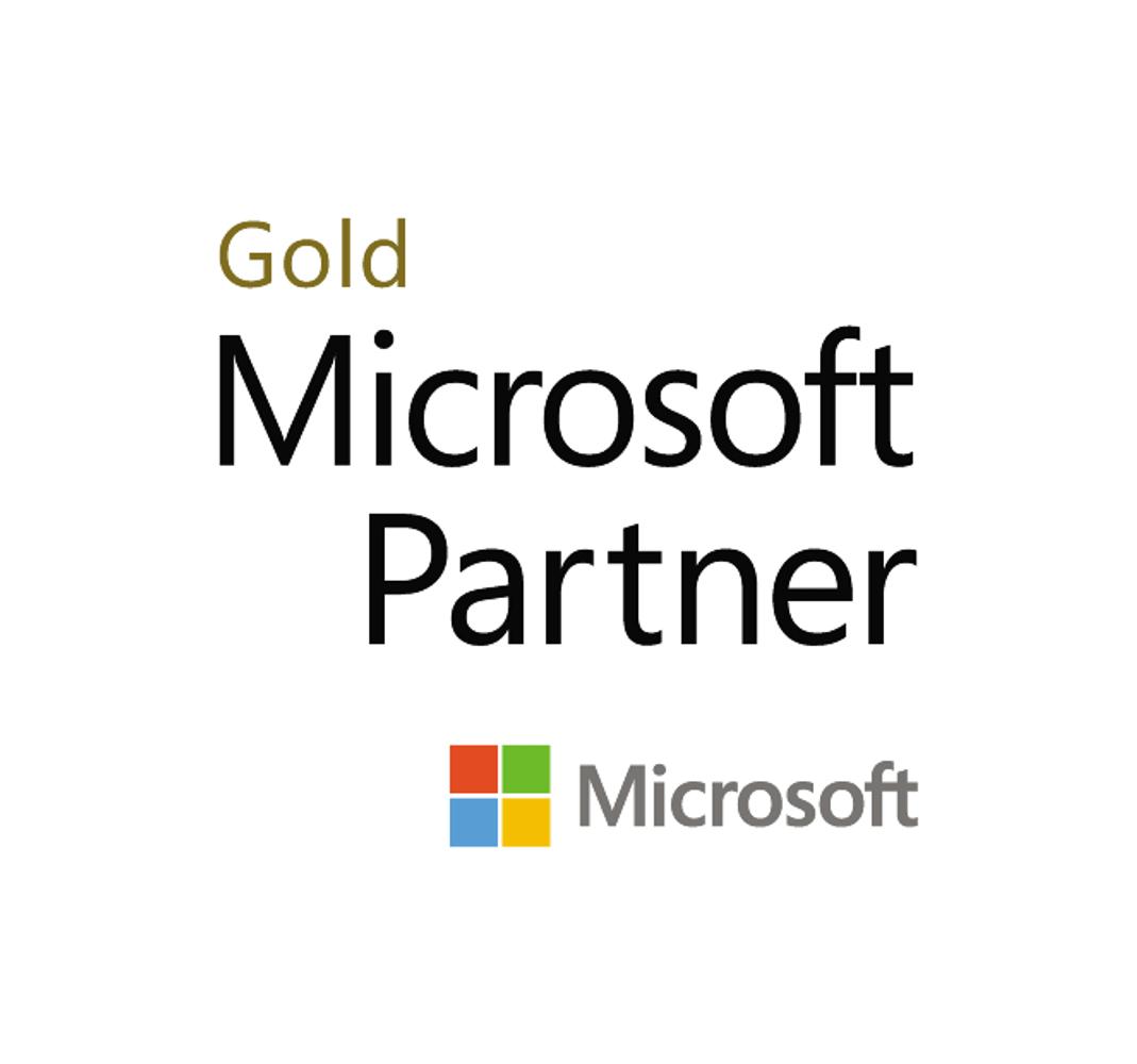 Microsoft Logog Goldpartnerschaften