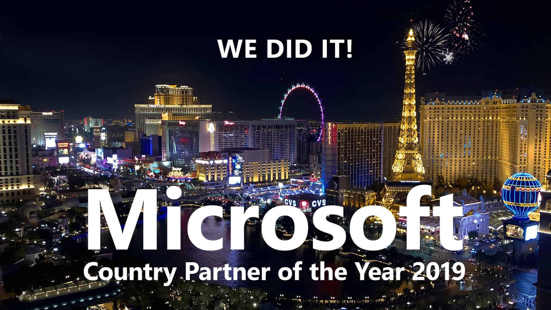 Yeah! isolutions ist Microsoft Country Partner of the Year 2019