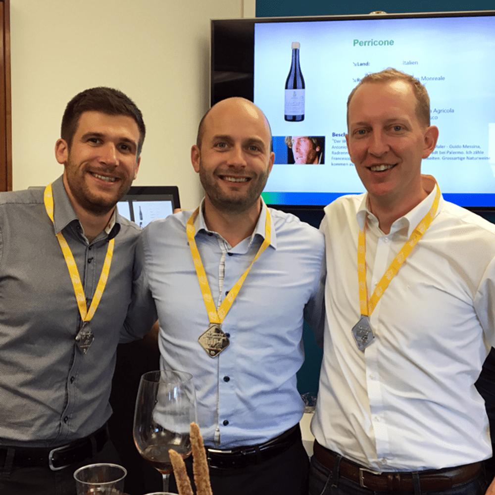 Winning Team Winetasting