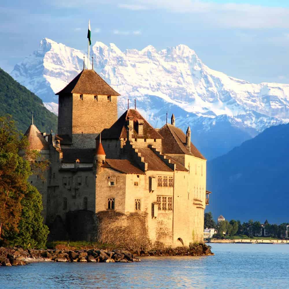 Bild des Schloss Chillon
