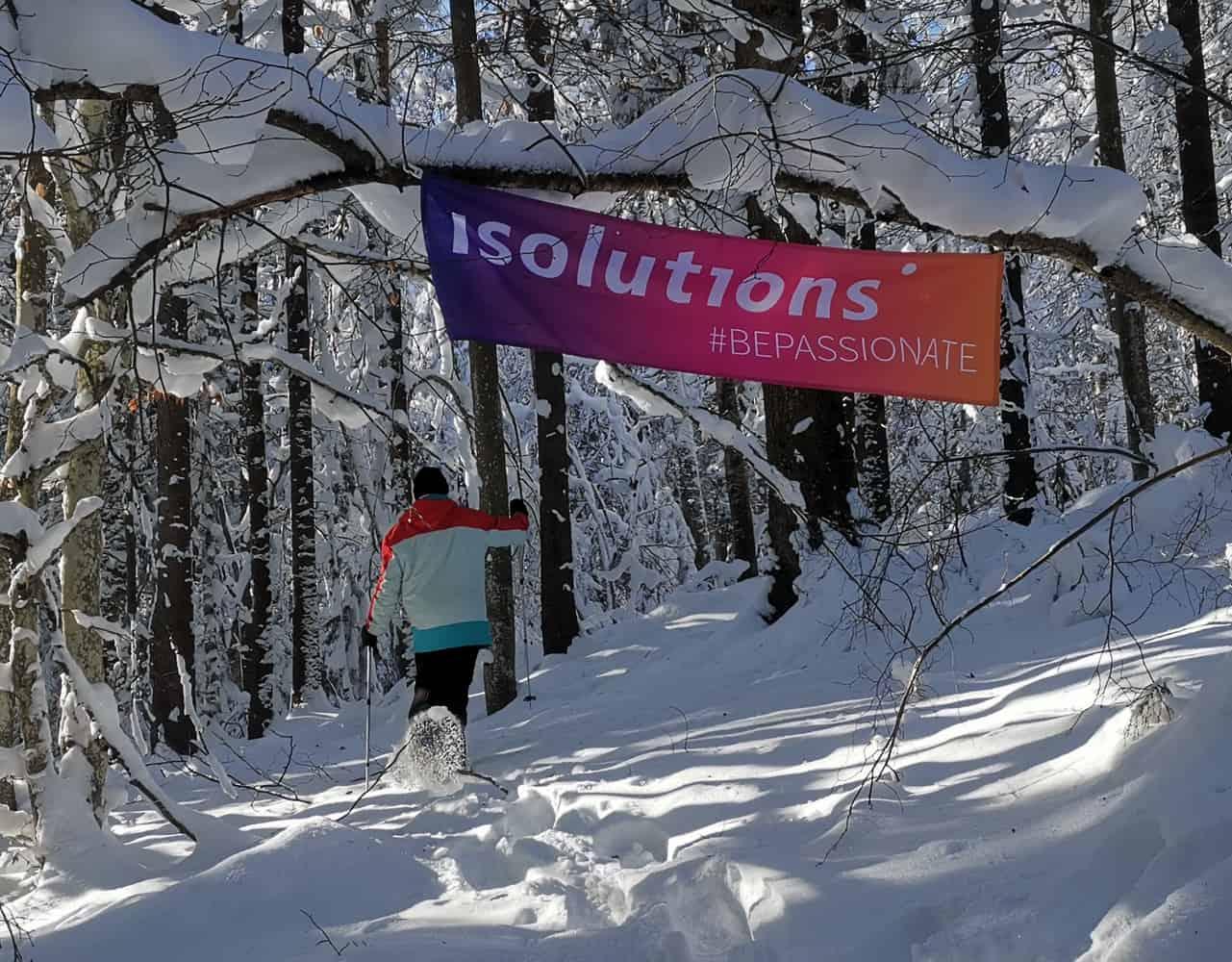 Michael Zysset - Schneeschuhlaufen