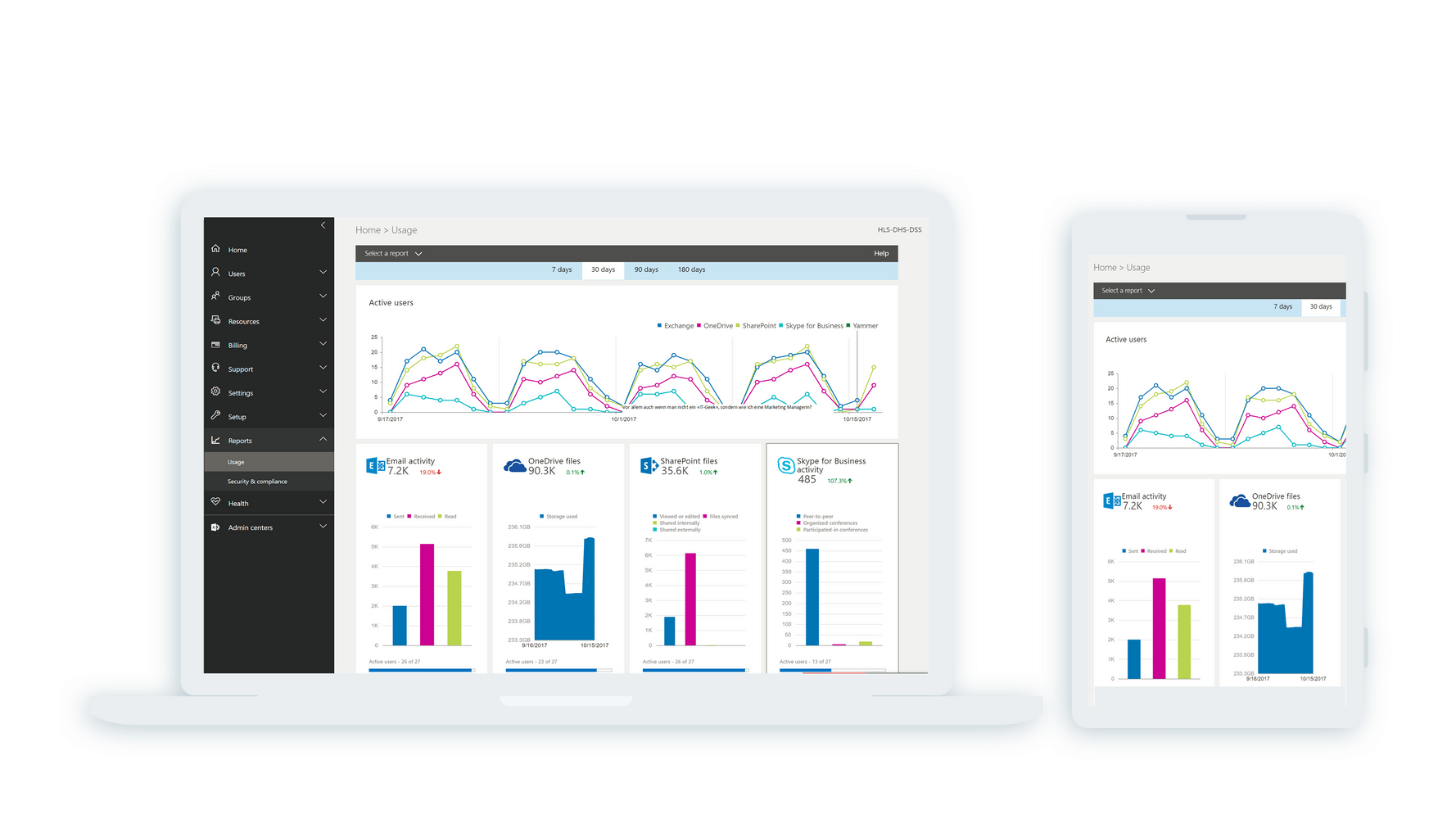 Screenshot Lösung HLS