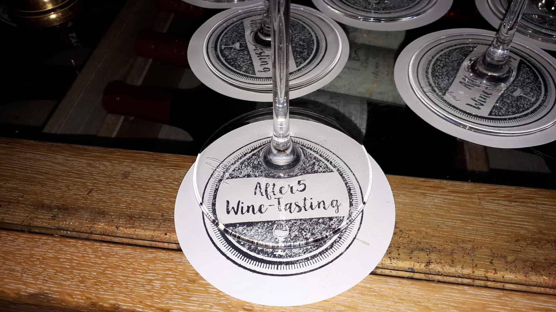 After5 Wine-Tasting im Februar 2019