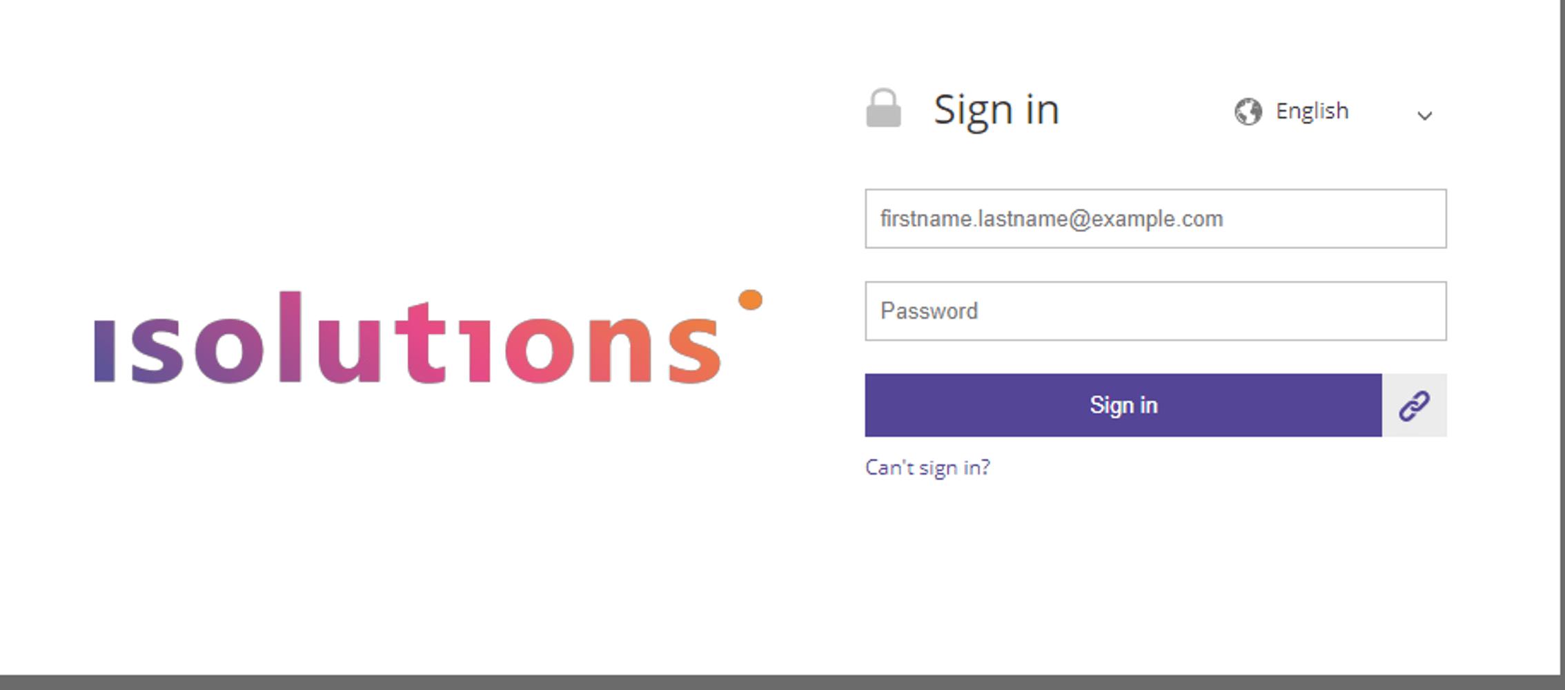Isolutions Marketplace - Login