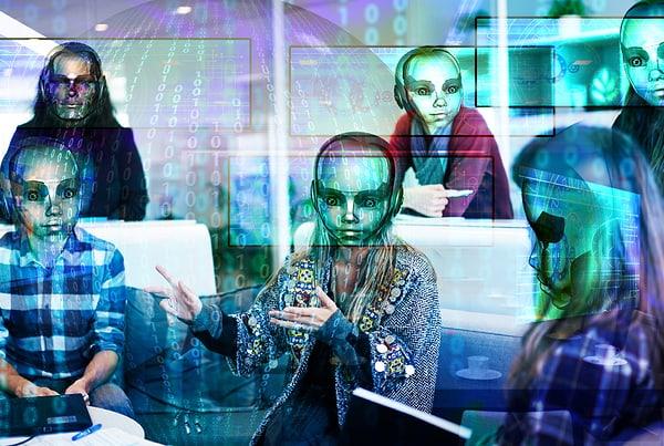 Menschen in der digitalisierten Welt